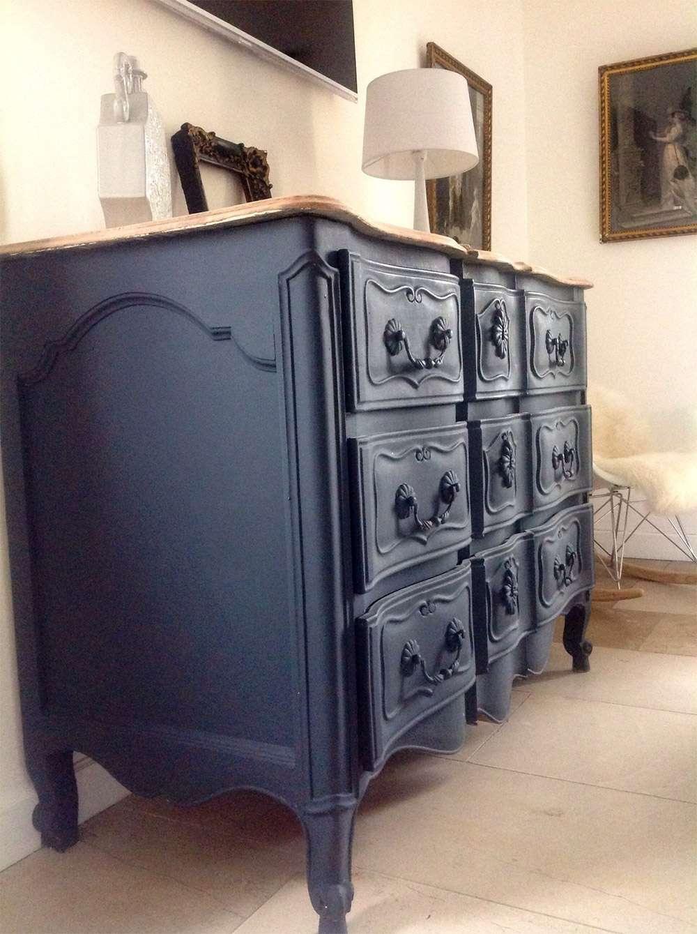Peindre un meuble en bois toutes nos astuces super d co for Meuble de salle a manger repeint