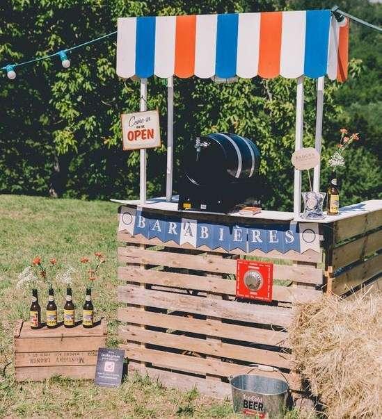 Bar En Palette : 14 Idées Rapides Et Faciles Pour L'Apéro Cet Été