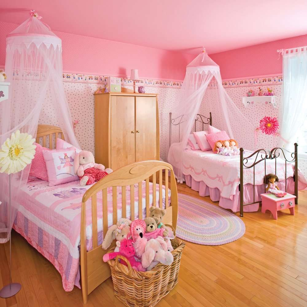 chambre de fille les 12 plus belles chambres princesse super d co page 2. Black Bedroom Furniture Sets. Home Design Ideas