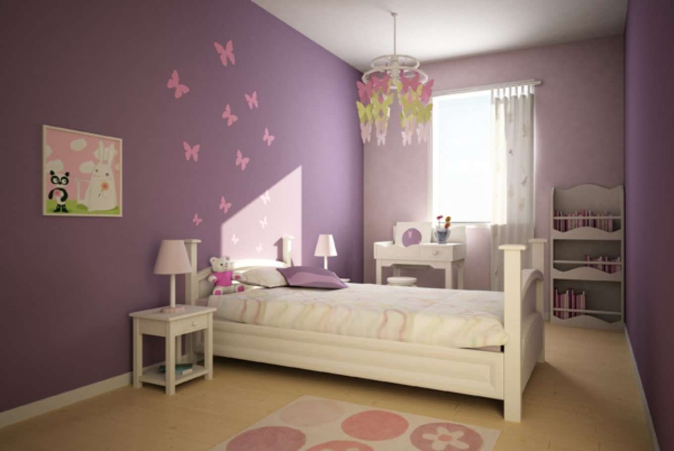 chambre de fille les 12 plus belles chambres princesse super d co page 12. Black Bedroom Furniture Sets. Home Design Ideas