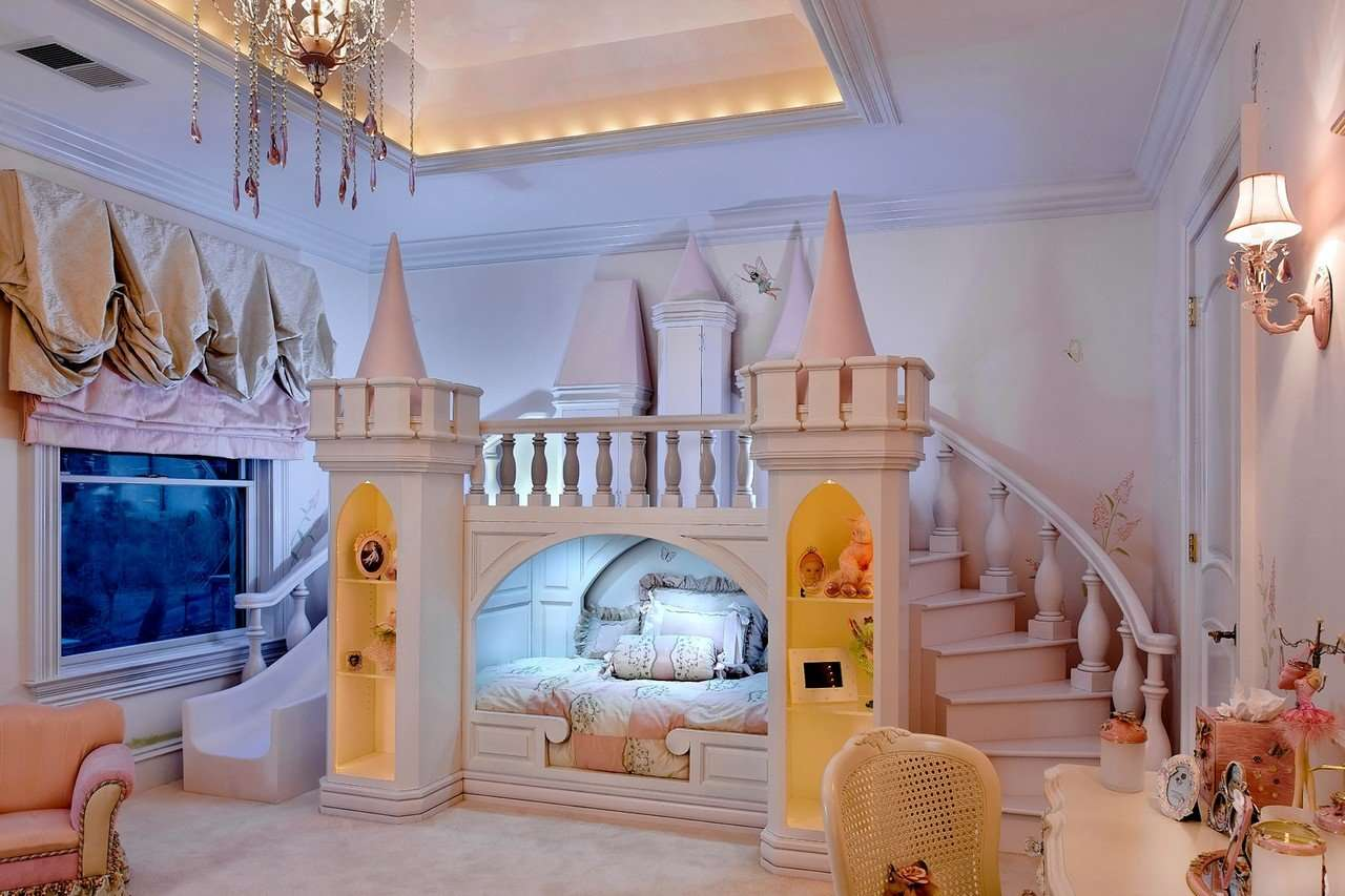 Chambre de fille les 12 plus belles chambres princesse super d co - Bedroom ideas for yr old girl ...