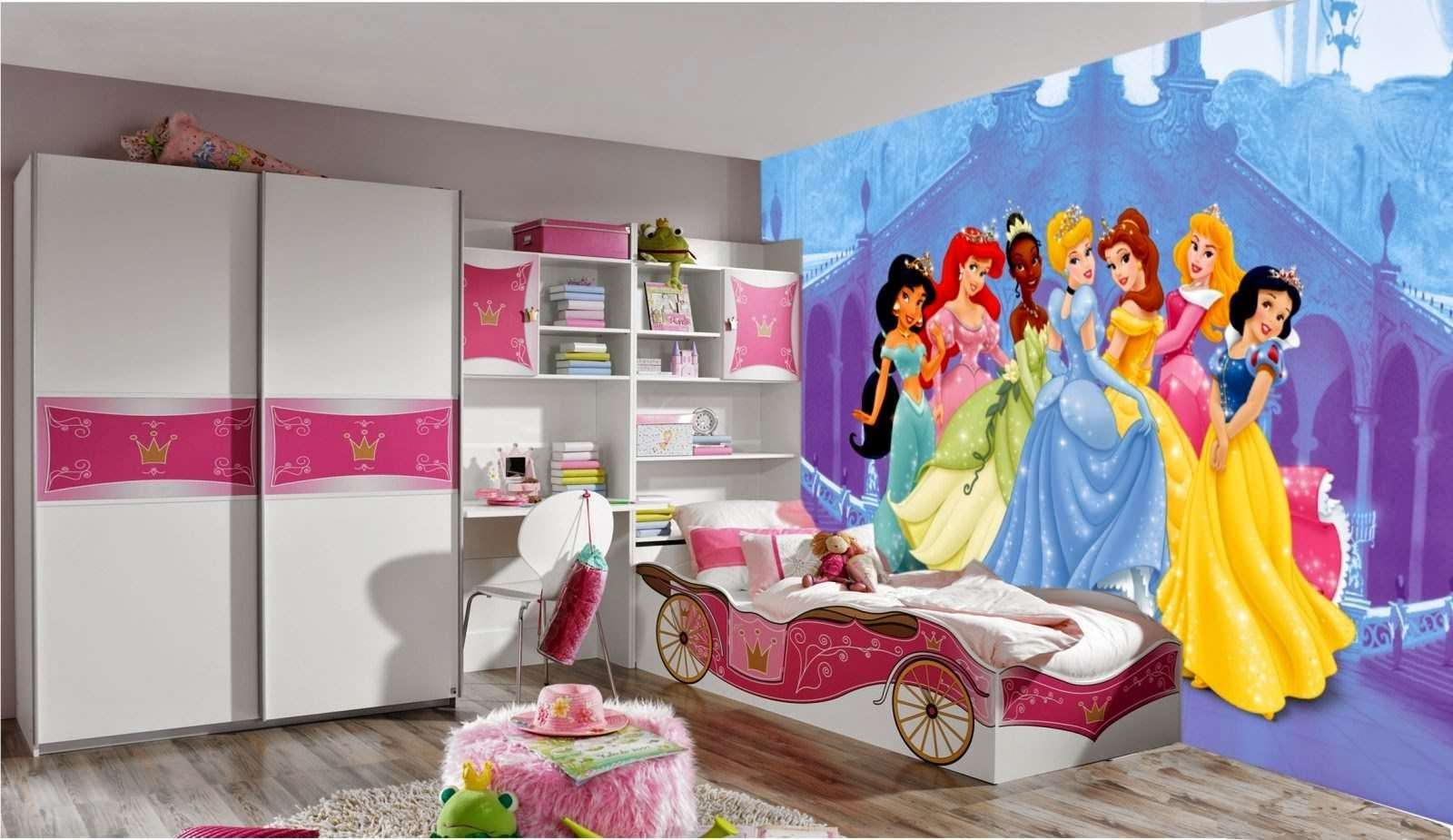 chambre de fille les 12 plus belles chambres princesse super d co. Black Bedroom Furniture Sets. Home Design Ideas