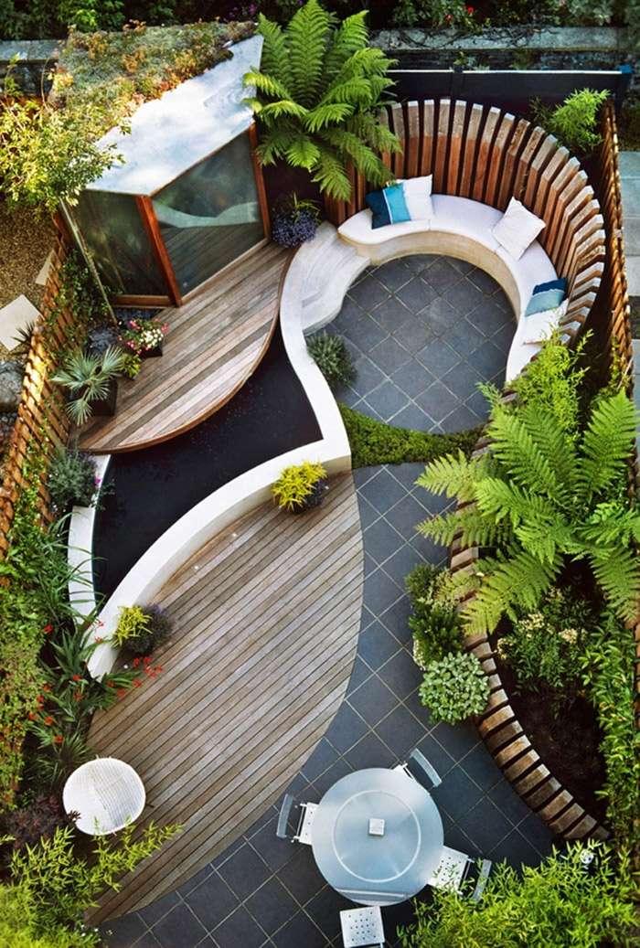 Top 13 idées d'aménagement pour un petit jardin - Super Déco JM82