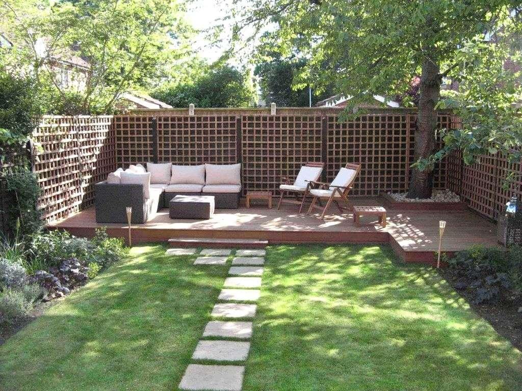 Decoration Petit Jardin dedans petit jardin avec estrade - super déco