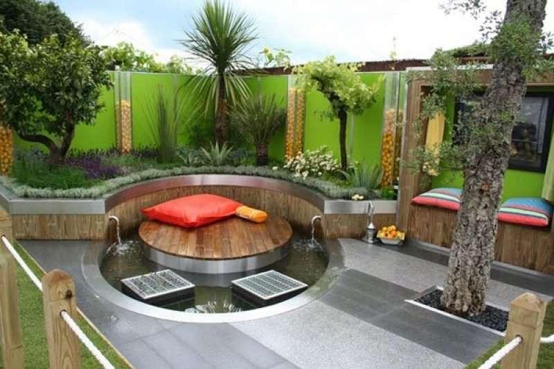 Petit jardin moderne - Super Déco