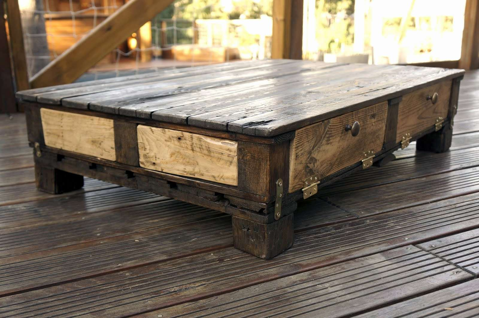 Table Basse En Palette 56 Idees A Ne Pas Rater Super Deco