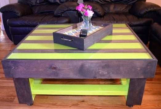 Table basse palette deco design 10 super d co - Table basse palette design ...