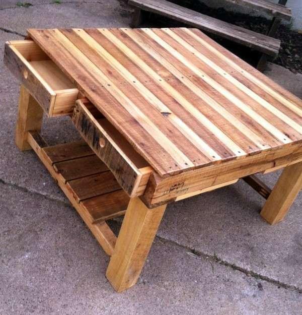 Table basse palette deco design 15 super d co - Table basse palette design ...
