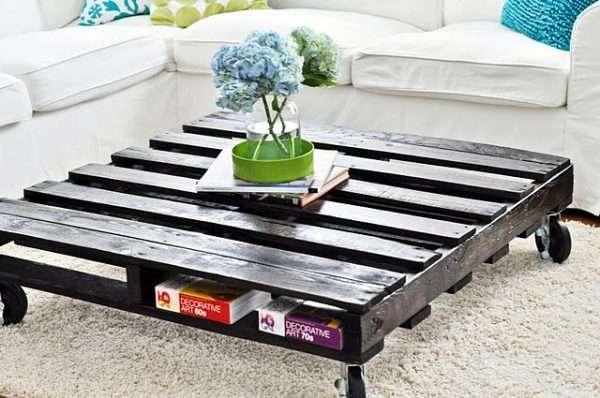 table basse palette deco design 26 super d co. Black Bedroom Furniture Sets. Home Design Ideas