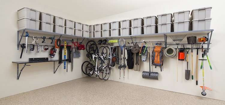 Amenagement-Garage-Angle - Super Déco