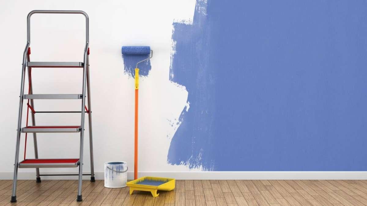 Peindre un mur tuto comment faire pour bien les peindre - Peinture pour mur de garage ...