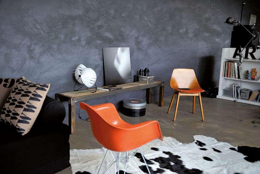 peinture effet tr s tendance pour votre d co super. Black Bedroom Furniture Sets. Home Design Ideas