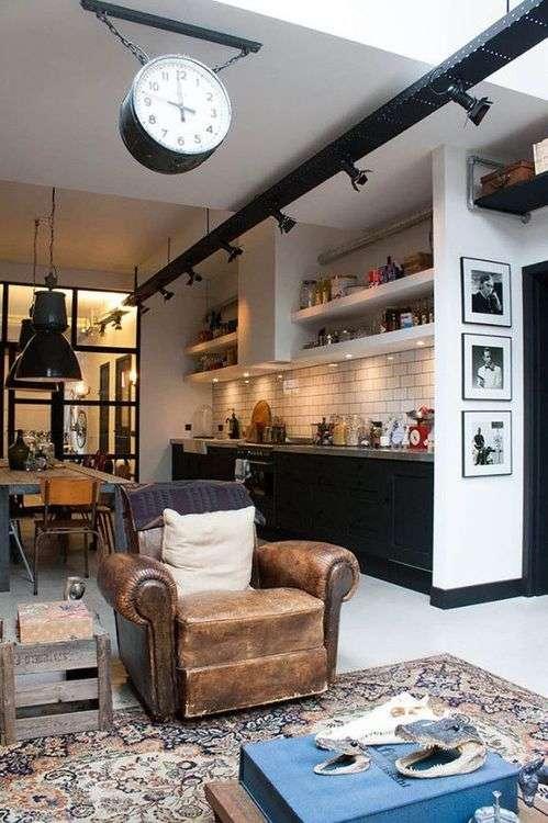 19 cuisines de loft trop belles pour tre vraies super d co - Cuisine deco design ...