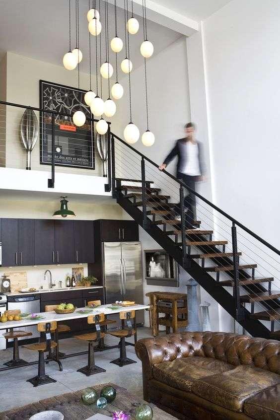 19 cuisines de loft trop belles pour tre vraies super for Deco cuisine loft