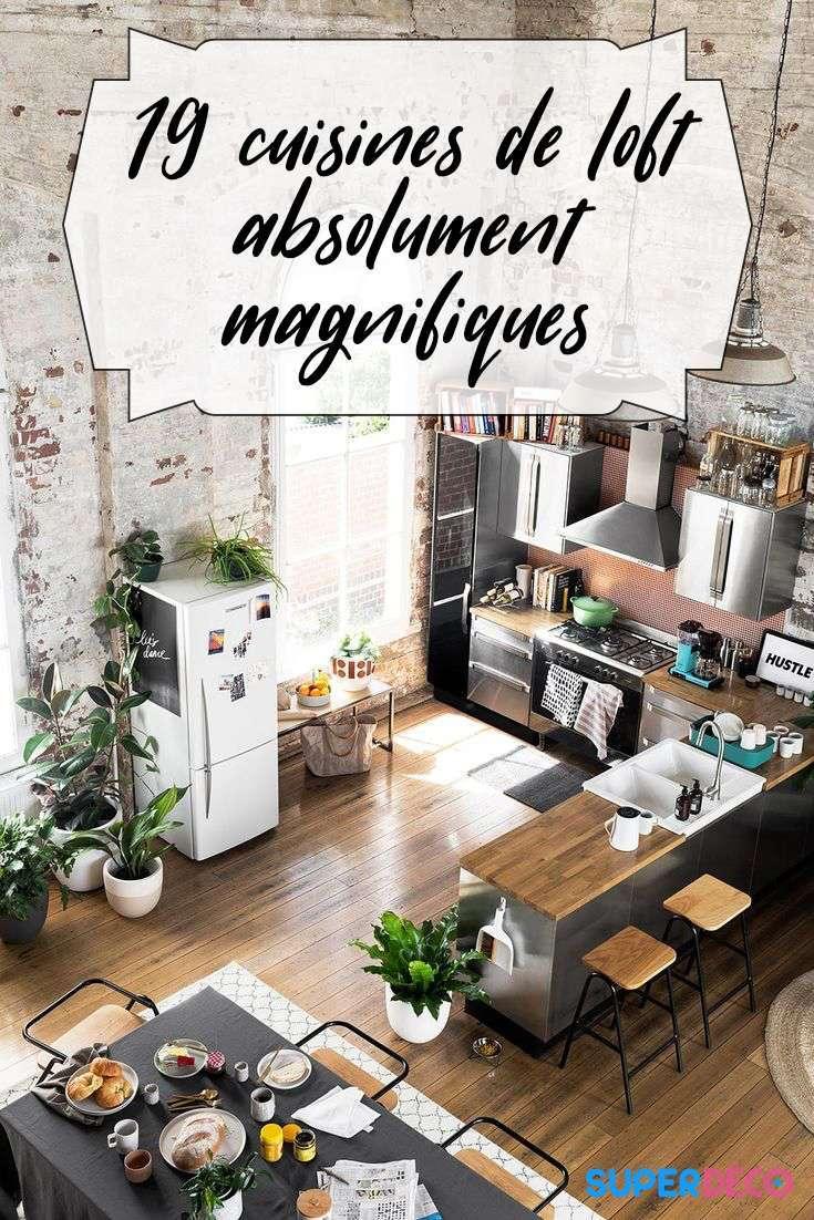 A la recherche d'inspiration pour des cuisines de loft absolument magnifiques ? Cet article va vous faire rêver !