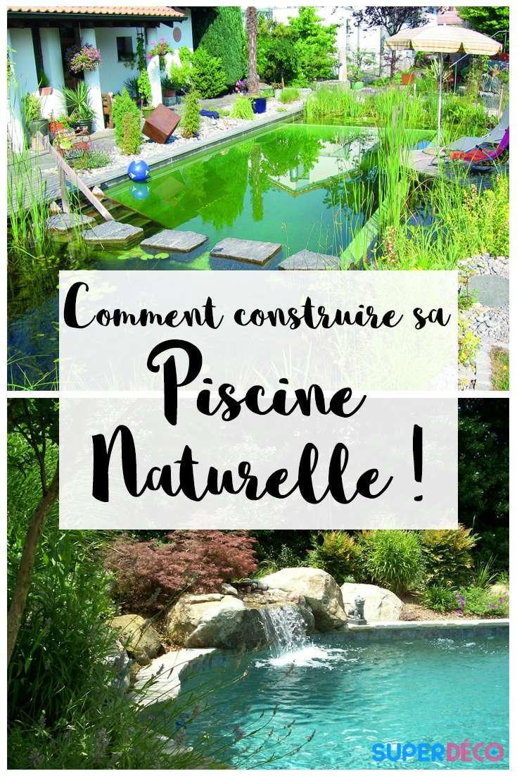 Construire Une Piscine Naturelle : Avantages Et Inconvénients .