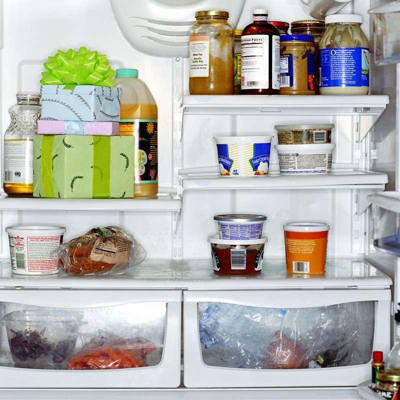 Boites de rangement frigo