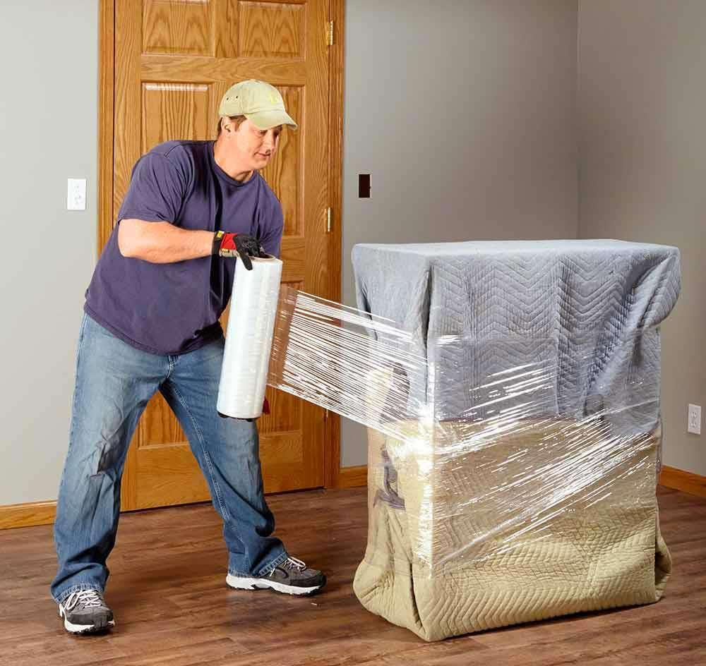 Couvrir un meuble pendant un déménagement