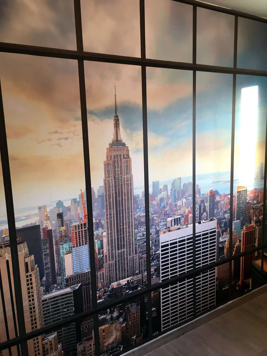 Stunning d coration murale new york contemporary for Decoration new york