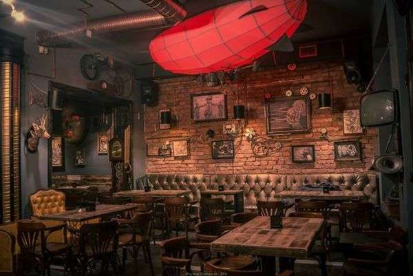 bar steampunk