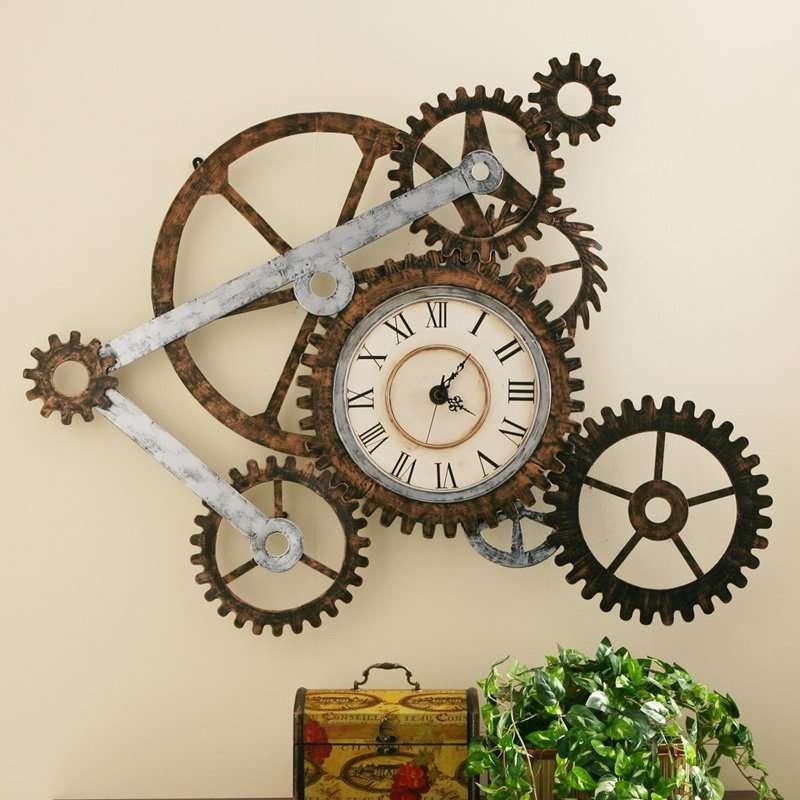 Horloge Rouage Vintage