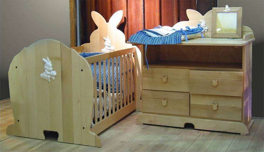 lit bebe lapin super d co. Black Bedroom Furniture Sets. Home Design Ideas