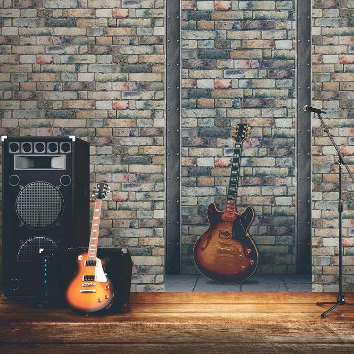Papier Peint guitare électrique