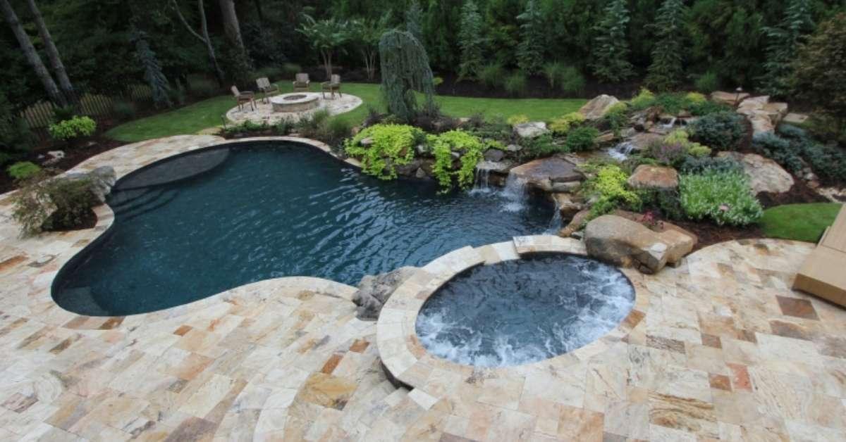 13 plages de piscines pour vous vader cet t super d co. Black Bedroom Furniture Sets. Home Design Ideas