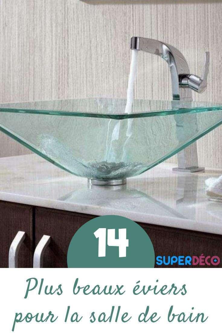 14 plus beaux éviers de salle de bain