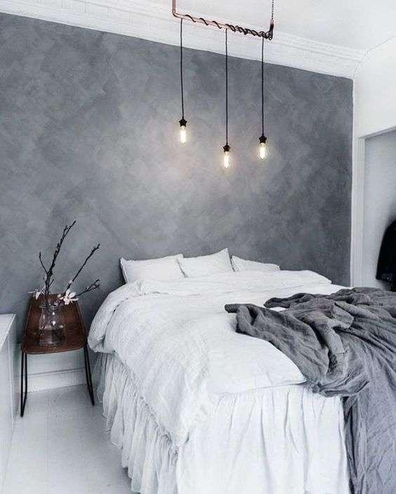 Chambre aux couleurs neutres pour un effet reposant