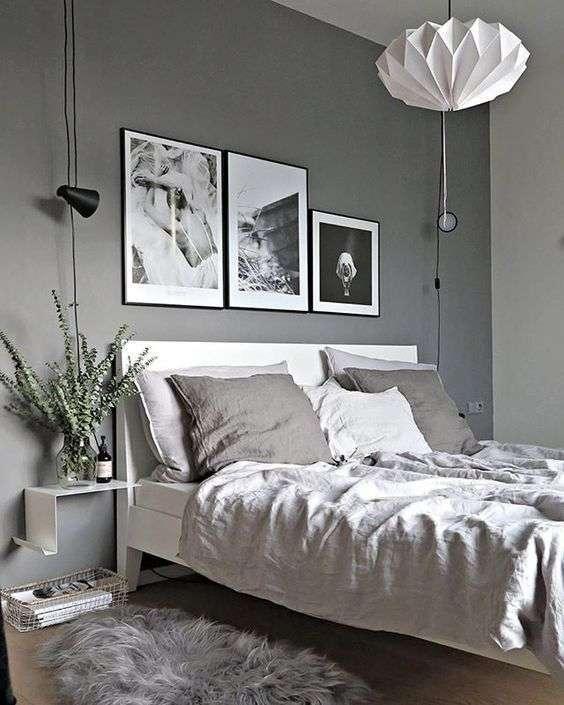 Tableaux en noir et blanc pour accompagner avec classe la neutralité de la décoration