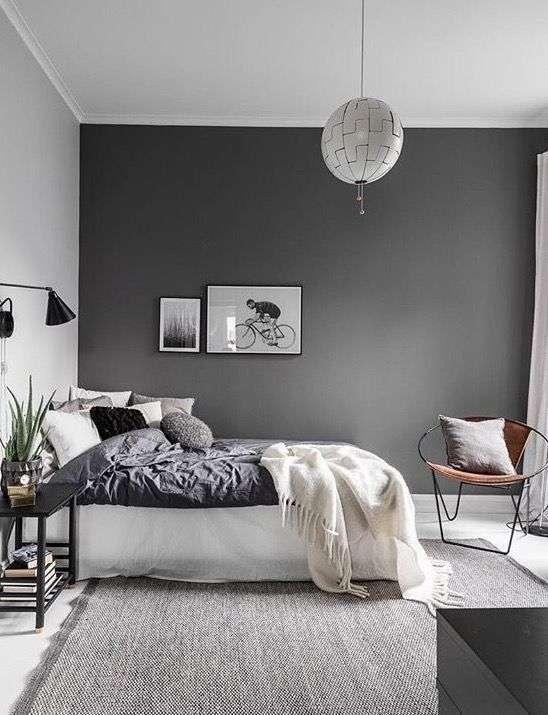 Chambre grise : 25 idées simples pour une déco incroyable ! - Super Déco