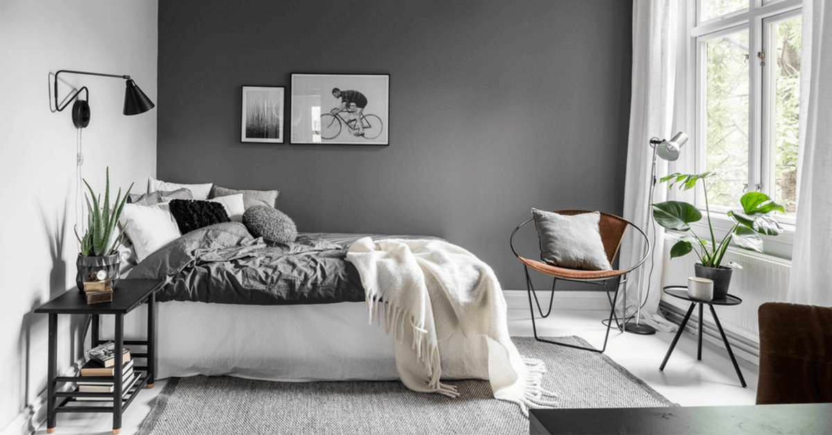 chambre grise 25 id es simples pour une d co incroyable. Black Bedroom Furniture Sets. Home Design Ideas