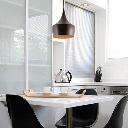 Unimall Suspension Luminaire Lampe Noir Moderne