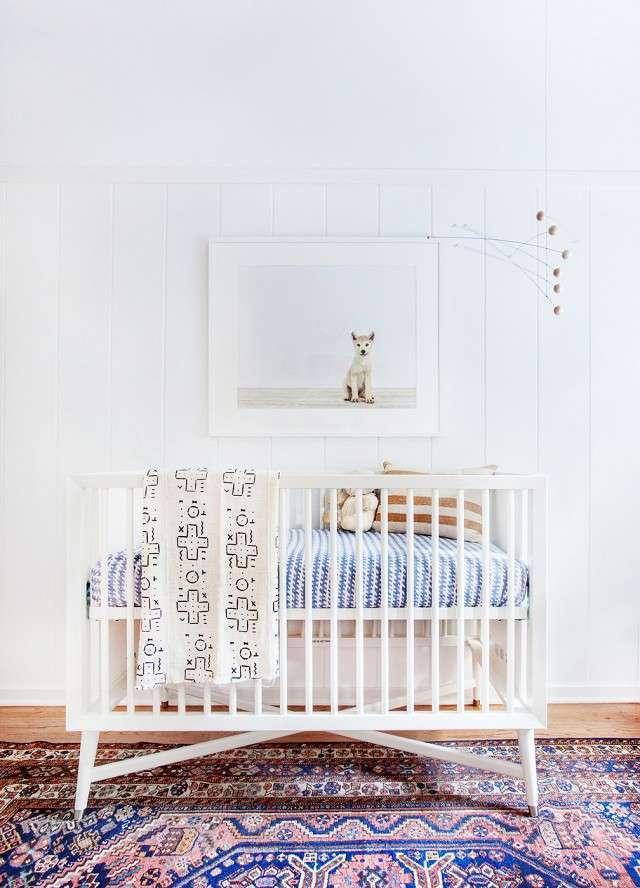Chambre de bébé écologique