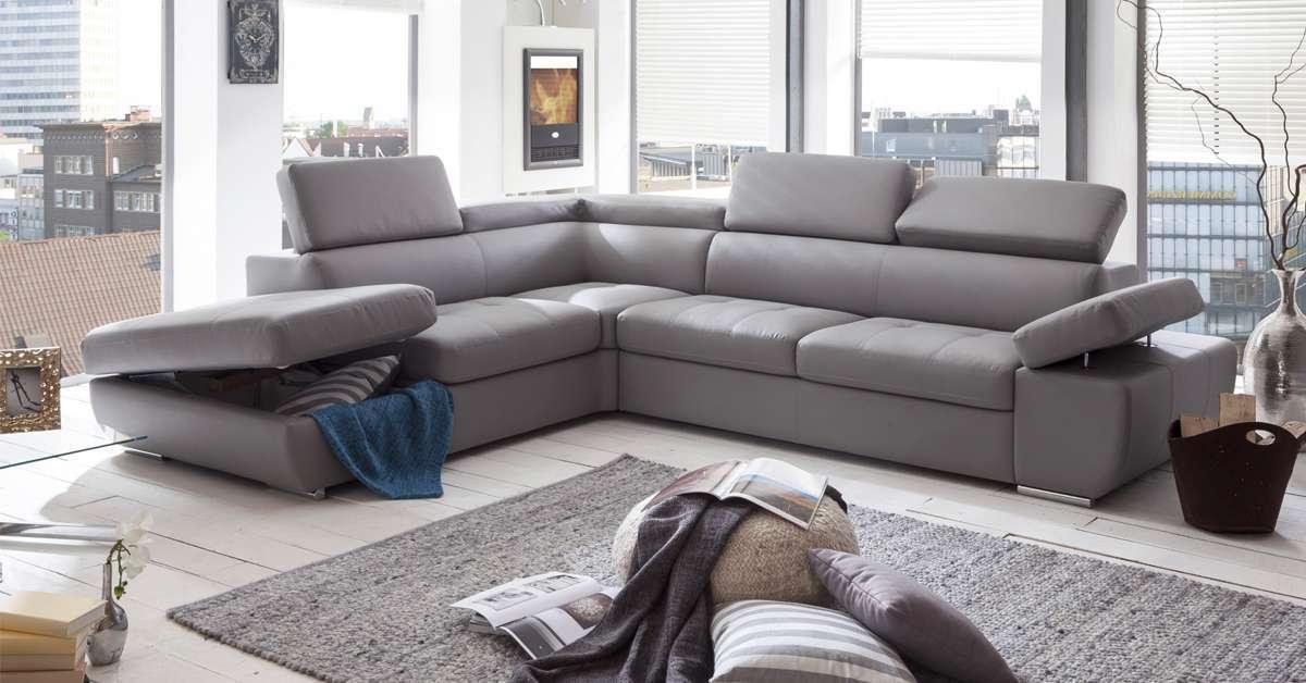 6 exemples de salon où le canapé gris fait toute la ...