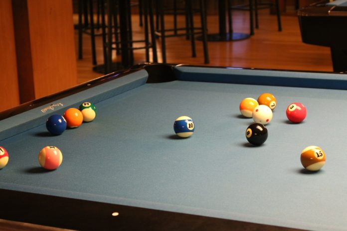 Table de billard américain