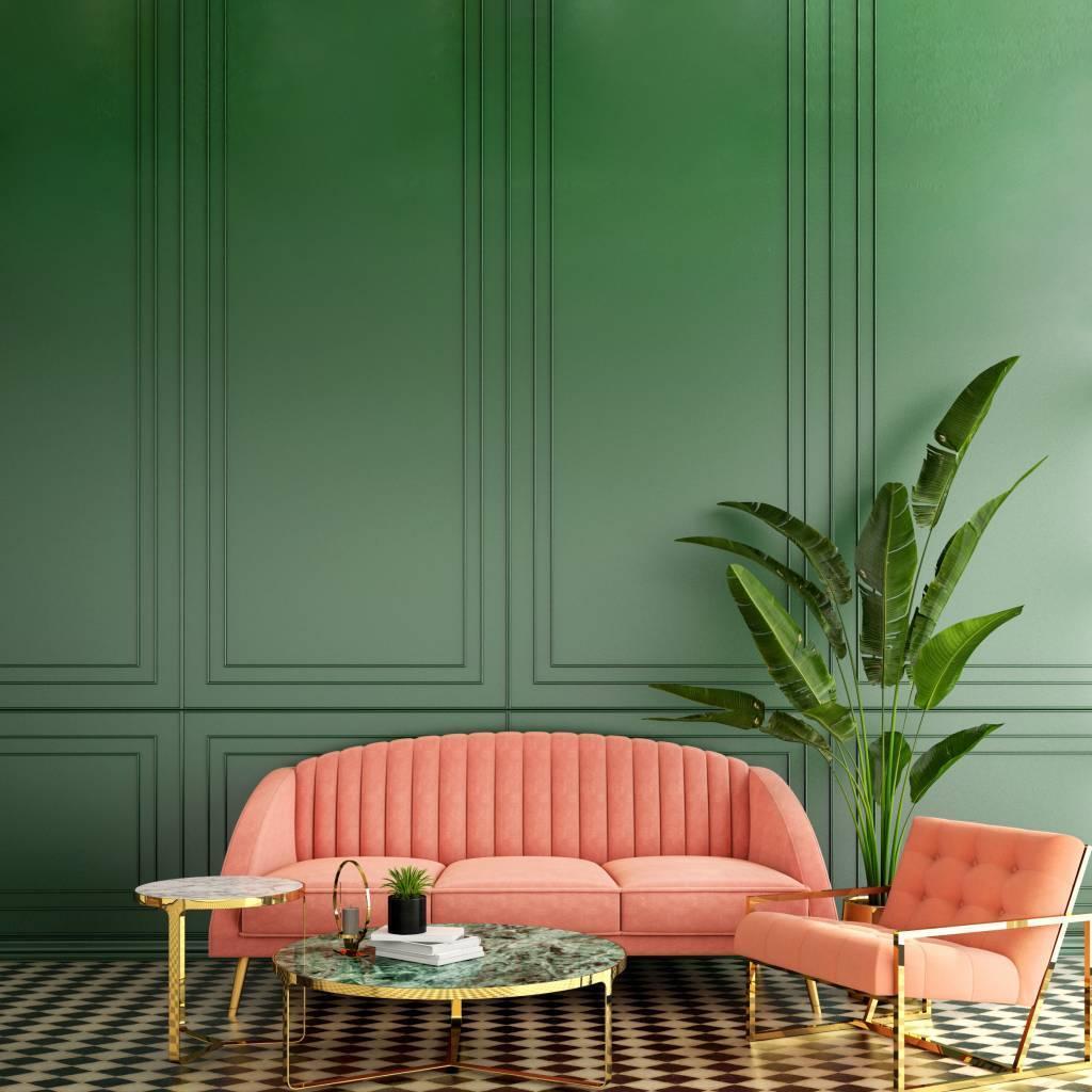 décoration style rétro vintage