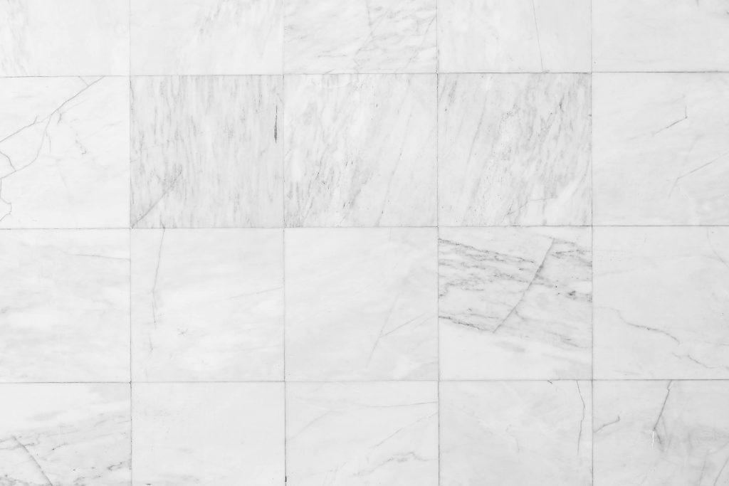 Carrelage blanc pour salle de bain
